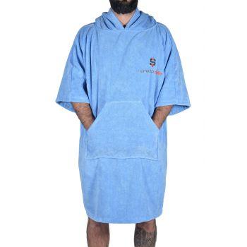 But de Foot Standard fixé dans l'herbe