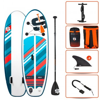 Angle but de Foot Standard - Taille L - Blanc